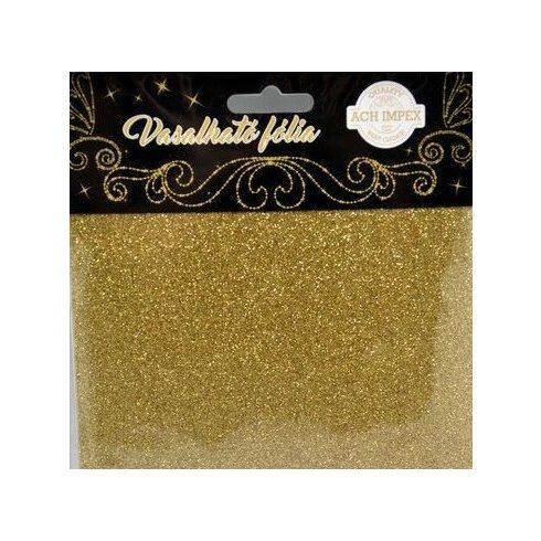 Vasalható fólia - Arany - 2db