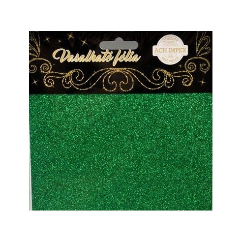 Vasalható fólia - Zöld - 2db