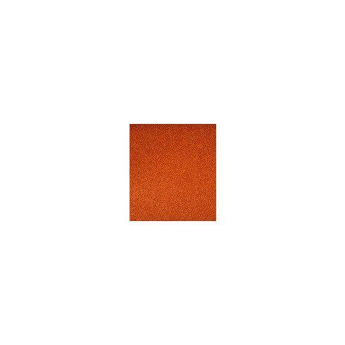 Dekorgumi csillámos - narancs
