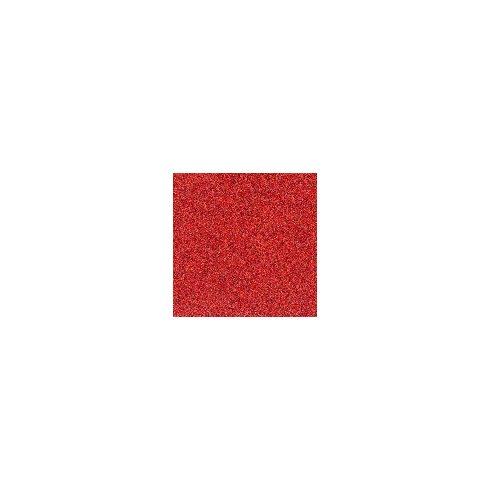 Dekorgumi csillámos - piros