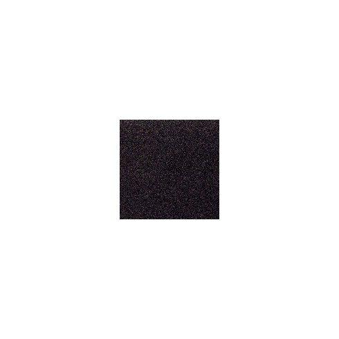 Dekorgumi csillámos - fekete
