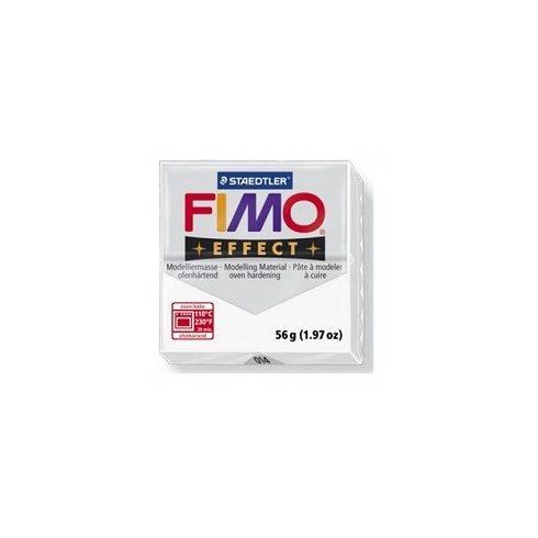 FIMO effect gyurma - Áttetsző fehér