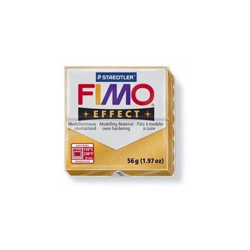 FIMO effect gyurma - Metál arany