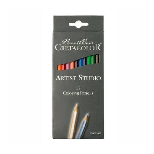 Cretacolor Artist Studio színesceruza készlet - 12db, kartondobozos