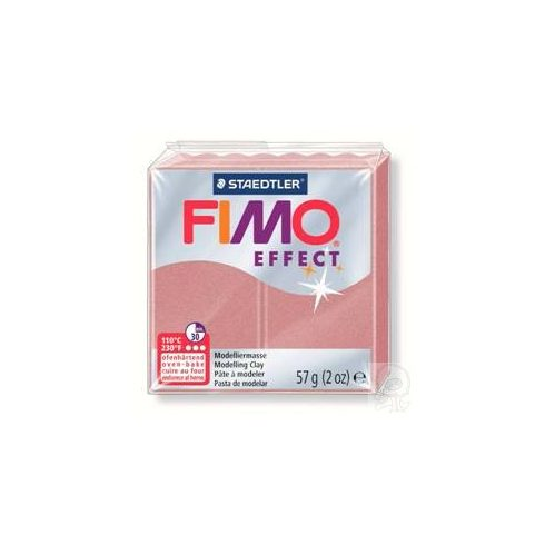 FIMO effect gyurma - Pearl RoseGold