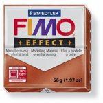 FIMO effect gyurma - Metál vörösréz
