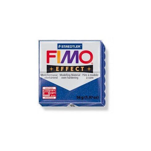 FIMO effect gyurma - Csillámos kék