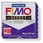 FIMO effect gyurma - Csillámos lila
