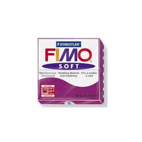 FIMO soft gyurma - Bíborlila