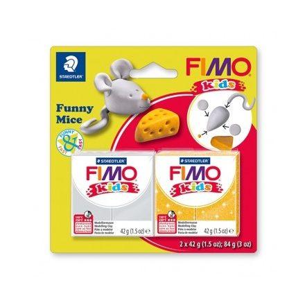 Fimo-Kids gyurmakészlet  - 2x42g - Vicces egér