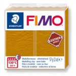 FIMO Leather effect gyurma - Okker