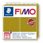 FIMO Leather effect gyurma - Oliva