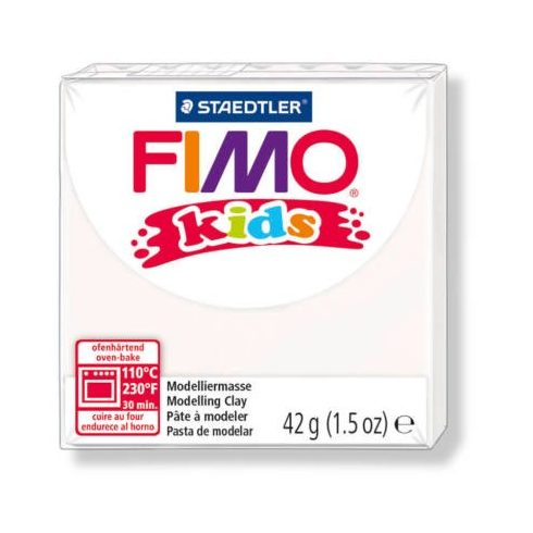 FIMO Kids gyurma - 42g - fehér