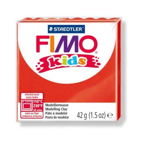 FIMO Kids gyurma - 42g - piros