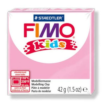 FIMO Kids gyurma - 42g - rózsaszín