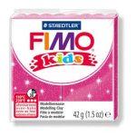 FIMO Kids gyurma - 42g - glitter fukszia