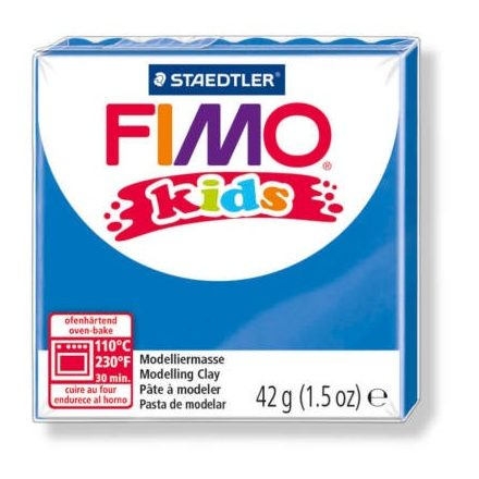 FIMO Kids gyurma - 42g - kék