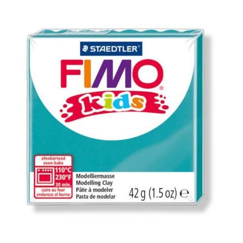 FIMO Kids gyurma - 42g - türkiz