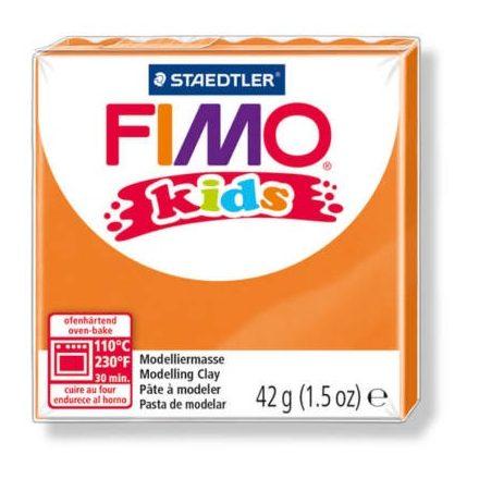 FIMO Kids gyurma - 42g - narancs