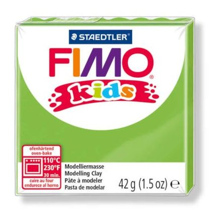 FIMO Kids gyurma - 42g - világos zöld