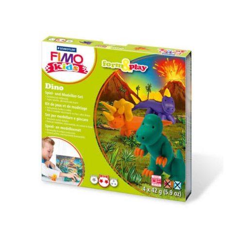 Fimo-Kids gyurmakészlet, Form&Play - 4X42g - Dínók