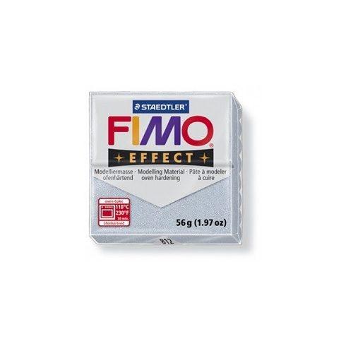FIMO effect gyurma - Csillámos ezüst