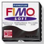 FIMO soft gyurma - Fekete