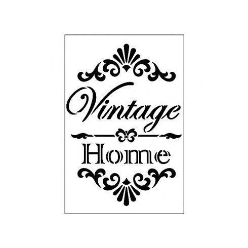 Stencil - Vintage-Home - 21X30cm
