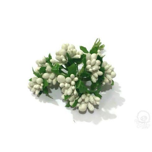 Fehér bogyós pick