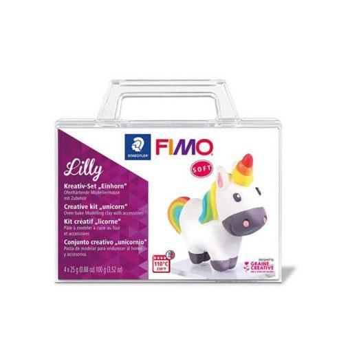 FIMO Soft Creative kit süthető gyurma készlet, 4x25 g - Lilly unikornis