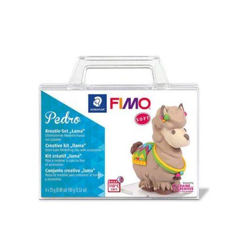 FIMO Soft Creative kit süthető gyurma készlet, 4x25 g - Pedro láma