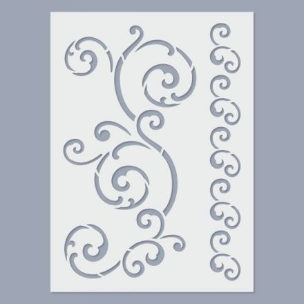 Stencil - inda2 - 15x20cm