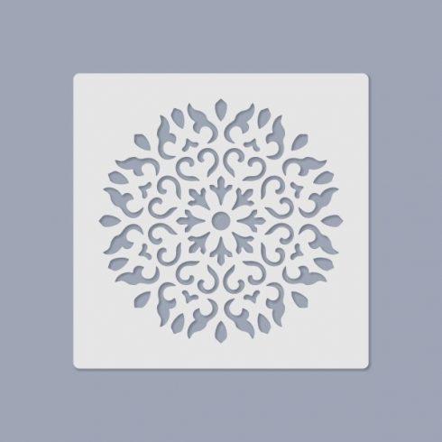 Media stencil - Mandala