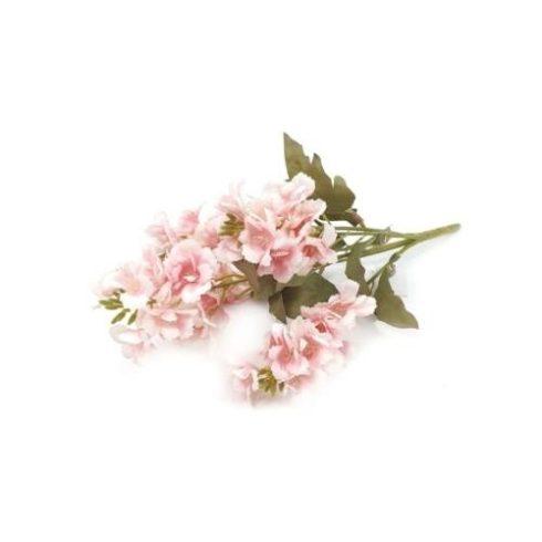 Antik levelű szarkaláb - rózsaszín