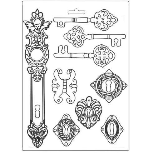 Öntőforma  - Lady Vagabond kulcsok és zárak