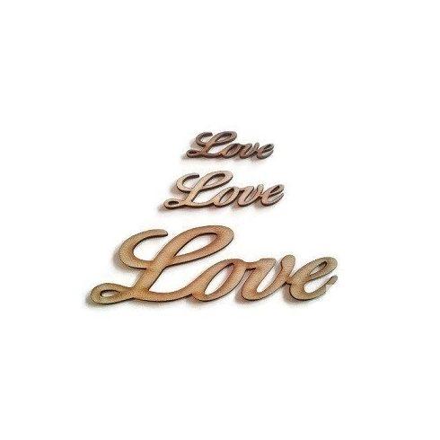fa felirat - Love - kicsi