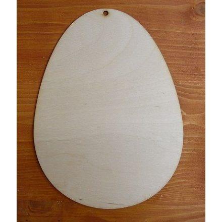 Fa tojás forma - 24cm