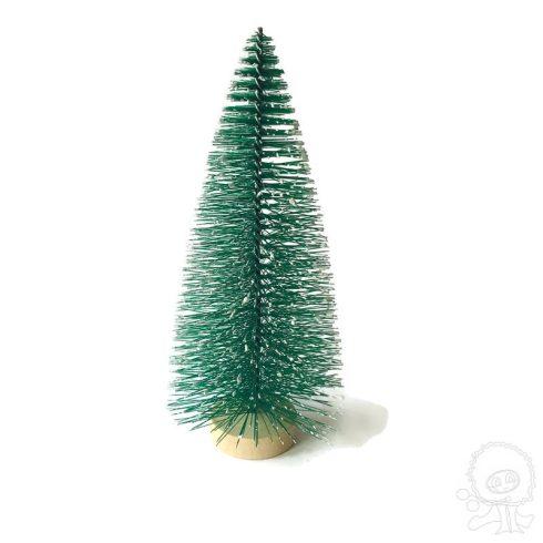 Minifenyő - zöld 10cm - 3db