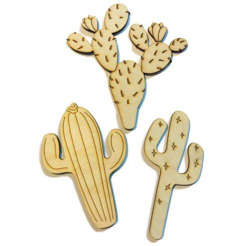 Fa figura - Kaktuszok