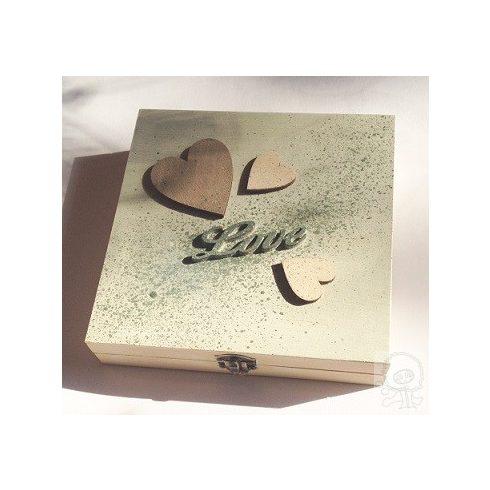 Love - szíves doboz - ÖTLET