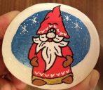 Festett kő - POSCA karácsony