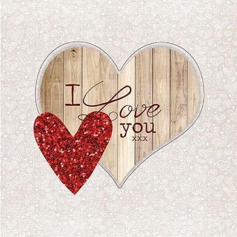 Családi szalvéta - I love you