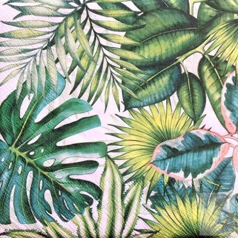 Viragos-szalveta-tropusi-levelek