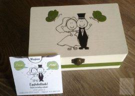 Esküvős doboz