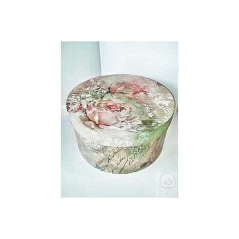 Rózsás kalapdoboz - ÖTLET
