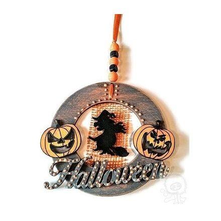 Halloween függődísz - ÖTLET