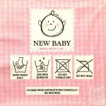 Decoupage szalvéta New Baby lányos