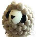 húsvéti bárány dekoráció