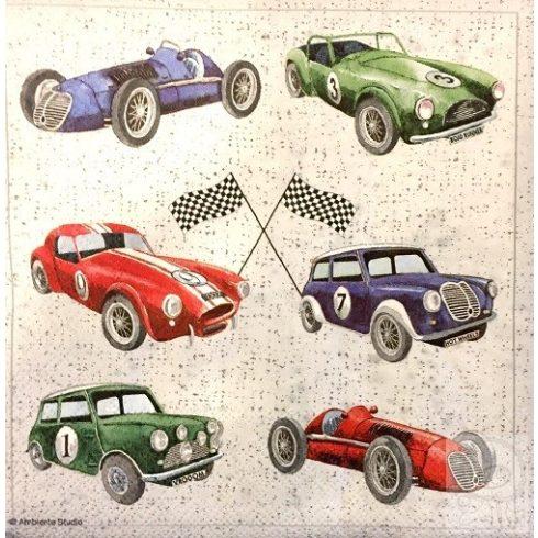 Szalvéta autók