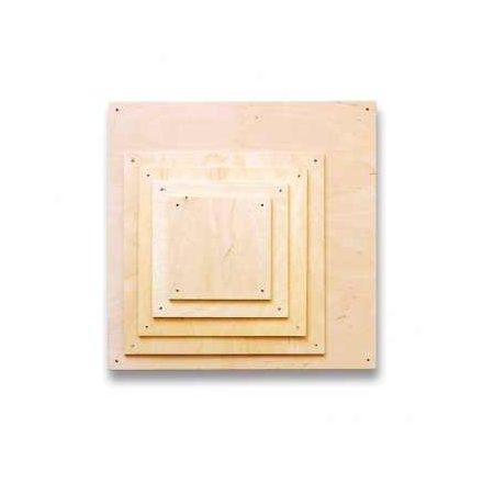 Fa lapok - négyzet - 32x32cm